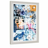 DELUXE35 Picture Frame 84x112 cm or 112x84 cm Photo//Gallery//Poster Frame